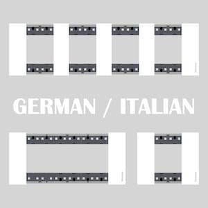 немецкий и итальянский стандарт